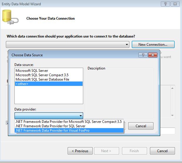 VFP Entity Framework Provider (v0 5) | Random Dev Notes
