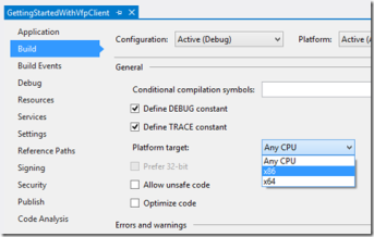 Getting started with VFP Client for ADO Net | Random Dev Notes